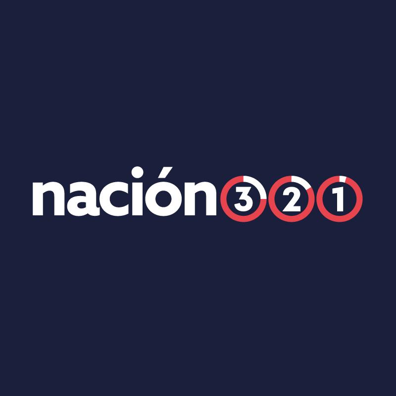 Nación 321 logo