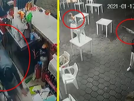 Revolución Social difunde video de violento asalto en taquería de Morelia