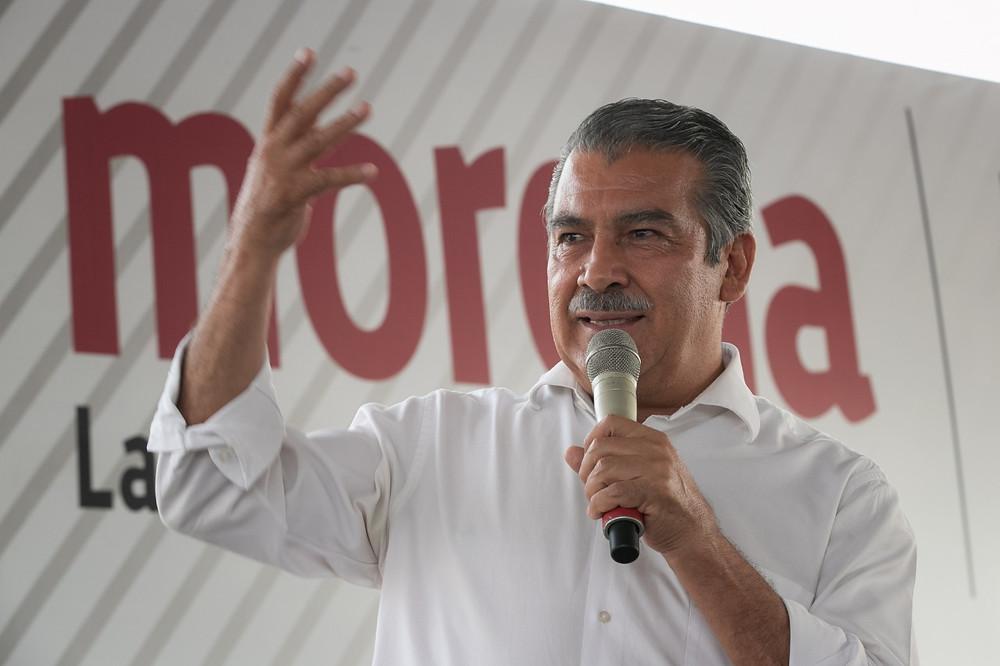 Mañana nos regresan la candidatura: Raúl Morón