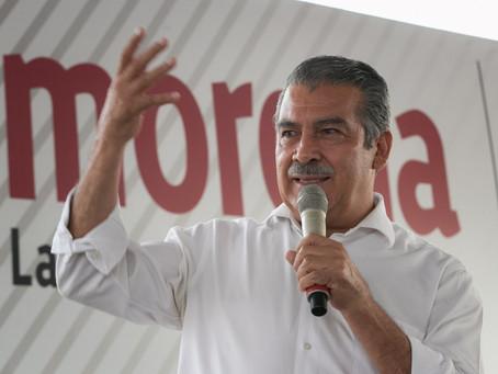 TEPJF confirma retiro de la candidatura de Raúl Morón al gobierno de Michoacán