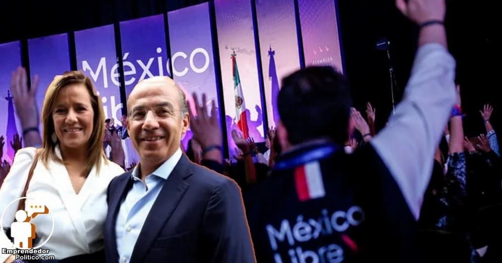 Bye bye México Libre, niegan su registro como partido político y Felipe Calderón se encab%..