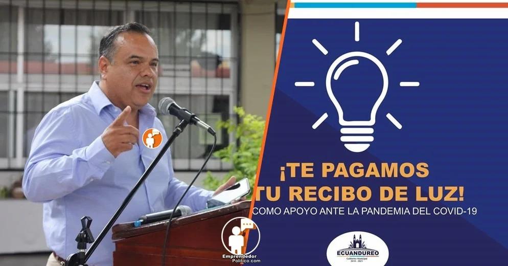 En el municipio de Ecuandureo Michoacán, el gobierno pagará los recibos de luz de sus habitantes