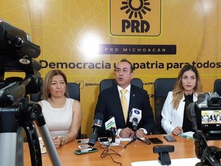 Alcalde suplente de Nahuatzen lo propondrá el PRD, afirma diputado Antonio Soto