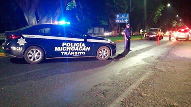 Se registra persecución tras intento de secuestro en Zitácuaro, Michoacán