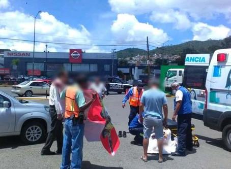 Pan nuestro de cada día: Cuentahabiente es baleado en el estacionamiento de un Afirme de Morelia