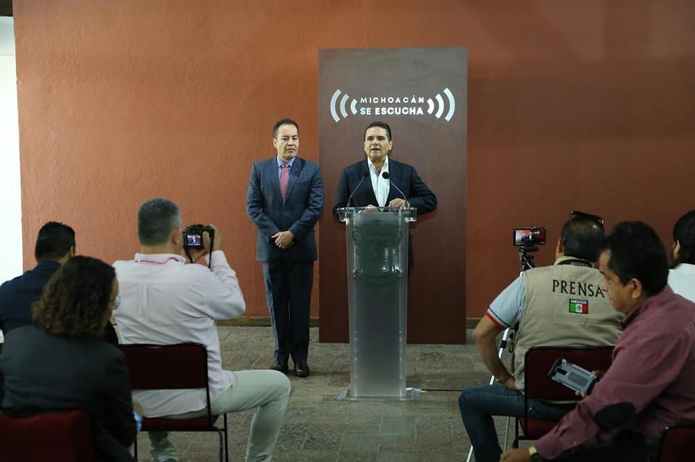 Grupo Ortiz mal agradecido pues solo felicitó a AMLO y Morón por atender incendio: Silvano