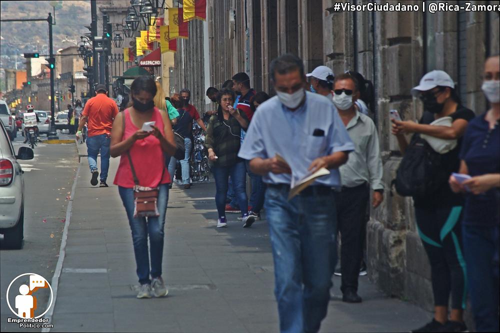 #Morelia con 7 nuevos casos por COVID-19, se mantiene crecimiento de contagios desde hace una semana