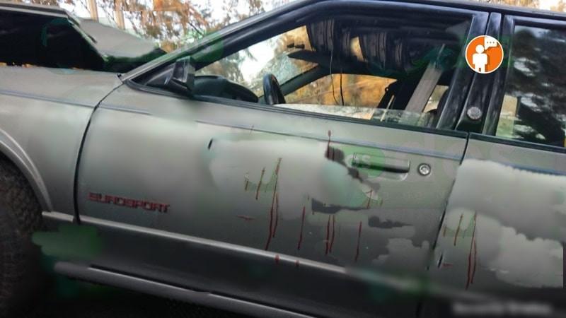 Chocado, con sangre y abandonado, hallan vehículo en Morelia