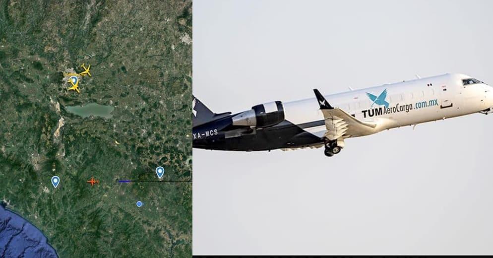Saldo de 5 fallecidos tras desplome de avión de carga en Michoacán