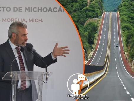 Ahora si habrá gobernador en Michoacán; conoce los primeros proyectos de infraestructura de Bedolla