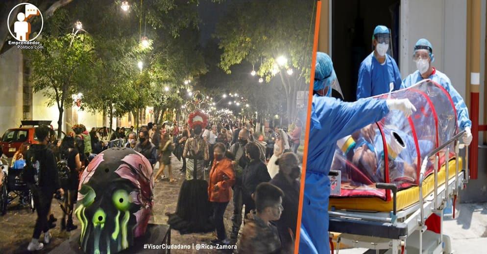 Gobierno de Michoacán informa que sigue al alza, las hospitalizaciones en Morelia por COVID-19