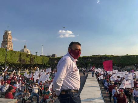Arranca campaña de Alejandro Tirado Zúñiga, candidato de MORENA a la alcaldía de Acámbaro