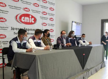 CMIC MIchoacán presentan proyecto para recibir consultas con un buzón