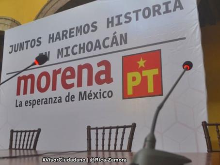 """OFICIAL: Raúl Morón es el candidato de la coalición """"Juntos Haremos Historia"""" (+Video)"""