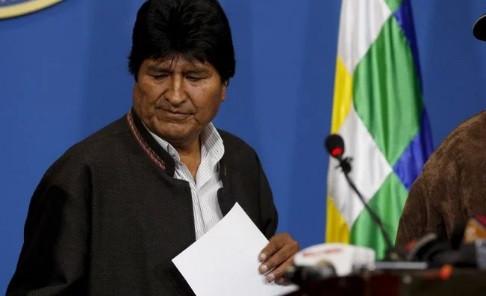 #ÚltimaHora: Evo Morales renuncia a la presidencia de Bolivia