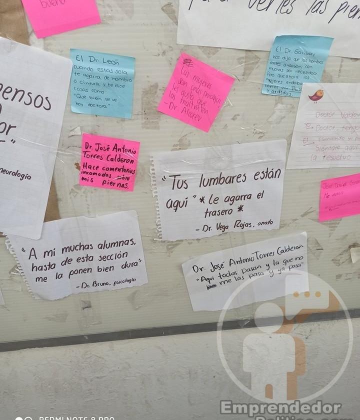 Rectoría de la #UMSNH respeta los tendederos de acoso y pide a alumnos a levantar denuncias formales