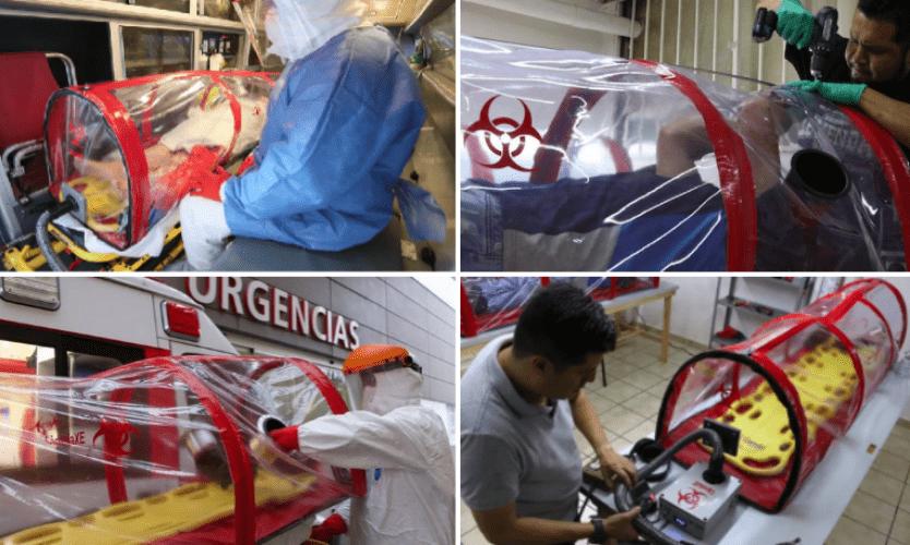 Las Cápsulas XE, invento mexicano para aislar a pacientes con COVID-19 (+Fotos)