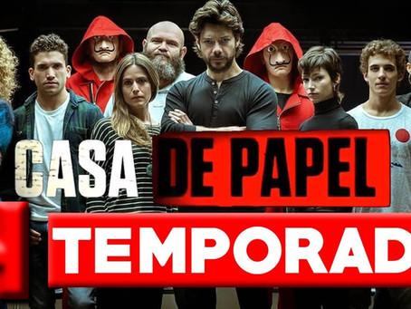 Netflix nos adelantará estreno de nueva temporada de «La Casa de Papel» por pandemia por Covid-19