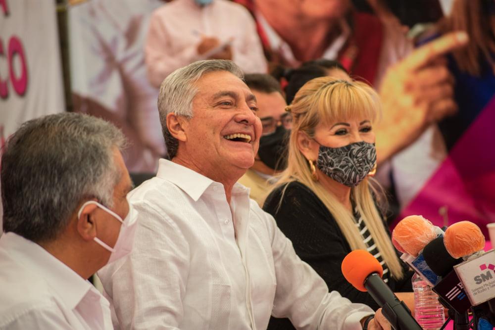 CAS confirma que seguirá como candidato a la gubernatura de FxM y dice tener apoyo de morenistas