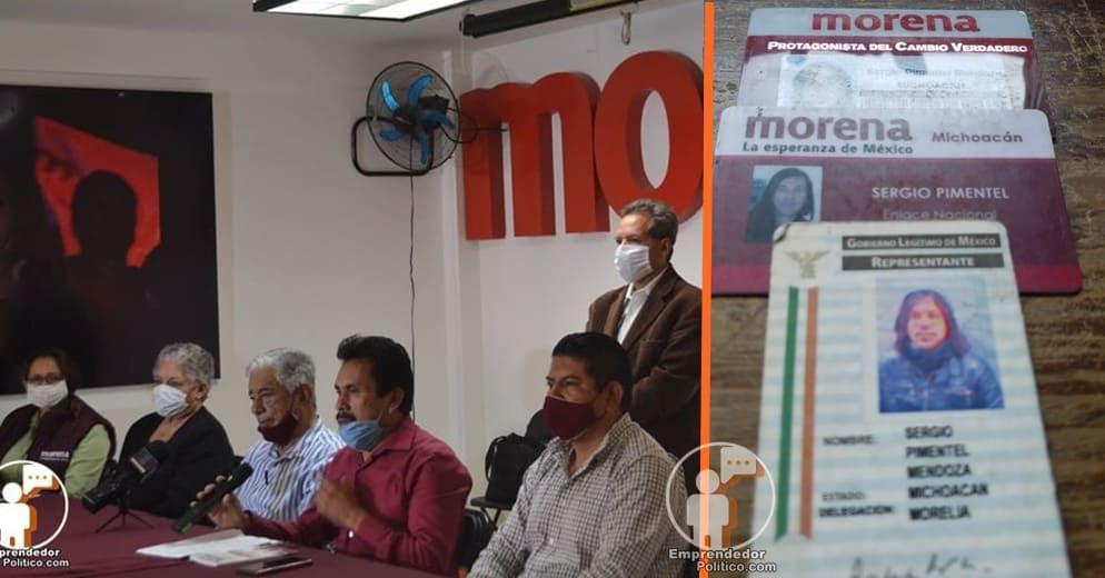 Seguidores de Yeyo Pimentel desmienten dichos del CEE de Morena; si esta afiliado