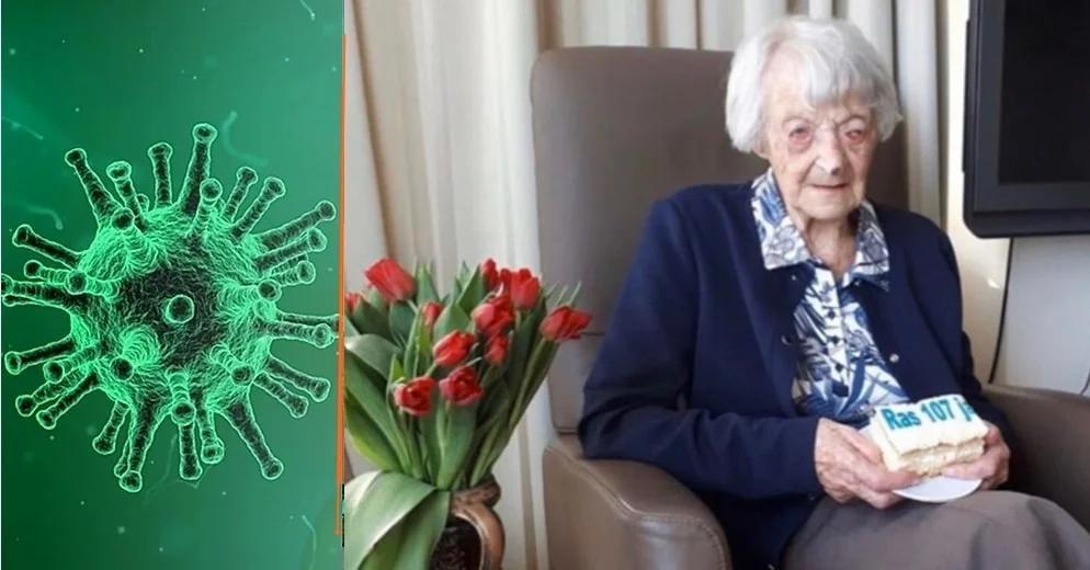 Una anciana de 107 años se recupera de covid-19 en los Países Bajos