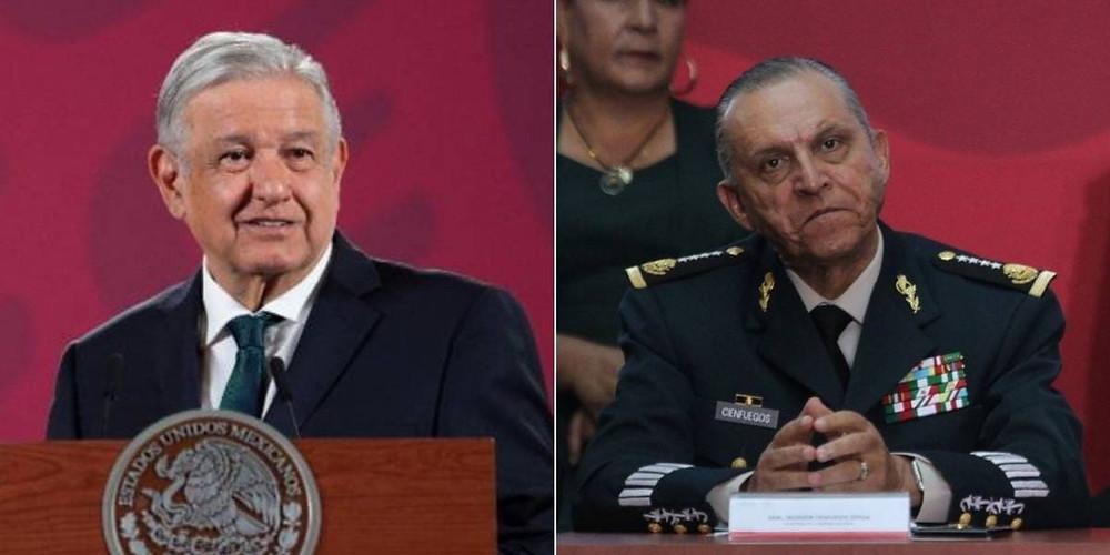 AMLO le hace un alto al PRI: no se pagará defensa de Cienfuegos en EUA