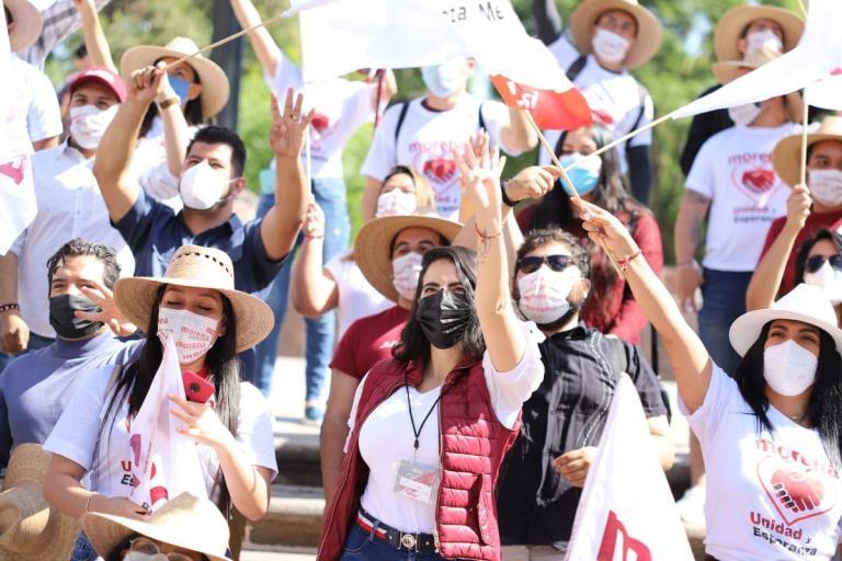 A la Transformación en Michoacán, ya nadie la detiene: Giulianna Bugarini