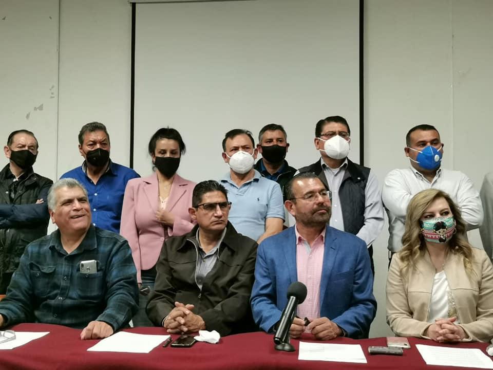 Militantes y simpatizantes de Morena llaman a la LEGALIDAD y a la INSTITUCIONALIDAD