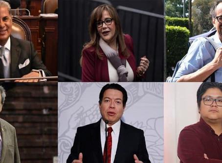 Ya van 105 candidatos para contienda en Morena y estos son algunos que buscan la presidencia