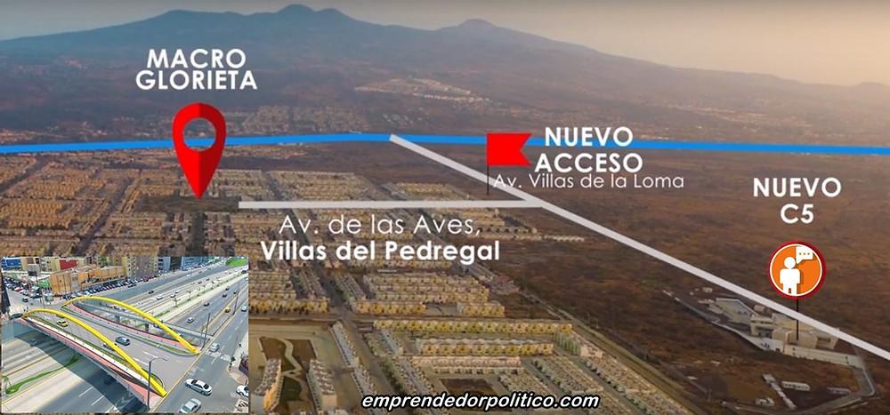 Confirma alcalde de #Morelia que Villas del Pedregal no tendrá aún, nuevo acceso