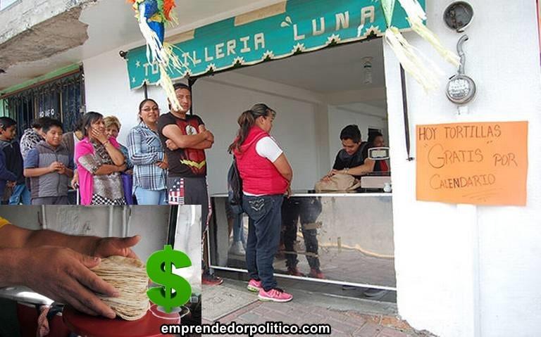¿Te gustan los tacos? el kg de tortilla podría llegar de 40 a 60 pesitos