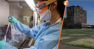 UNAM y CDMX desarrollan fábrica de mascarillas N95 y laboratorio para vacuna de Covid-19