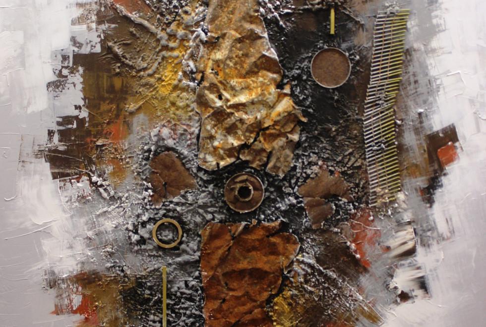 Fading Memories - Mixed Media - 150 x 10