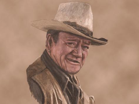 Exactly like John Wayne