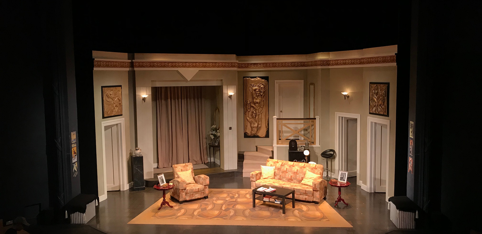 Present Laughter, RCSSD, 2017