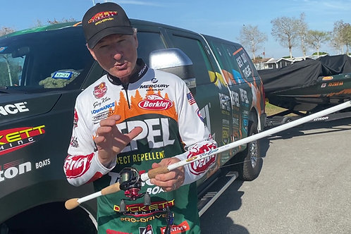 """8'0"""" GARY KLEIN PRO SERIES CASTING ROD - EXTRA HEAVY ACTION"""