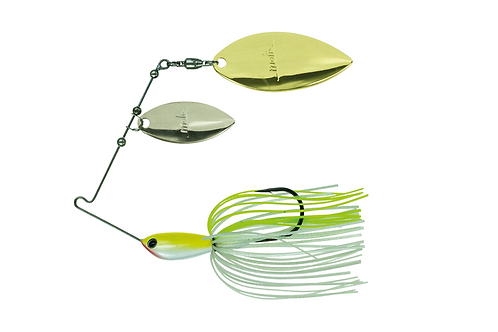 BD WATER SLASH DOUBLE WILLOW SPINNERBAIT