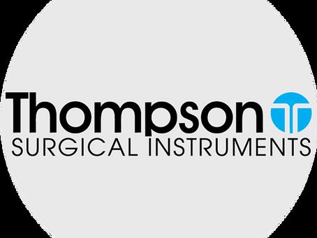 Компанія Елітмедіка стала ексклюзивним представником Thompson Surgical Instruments в Україні