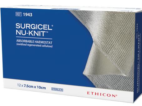 Гемостатичний засіб Surgicel Nu-Knit