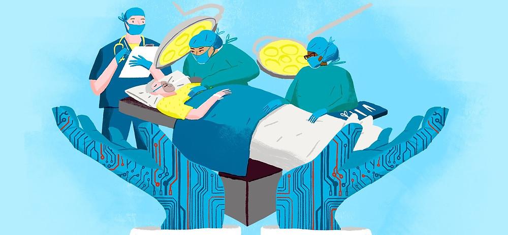 Технология, которая защищает: инновации, которые могут помочь сделать ваше следующее хирургическое вмешательство более безопасным