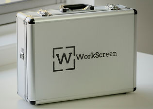 WorkScreen Handset Case - robust, light