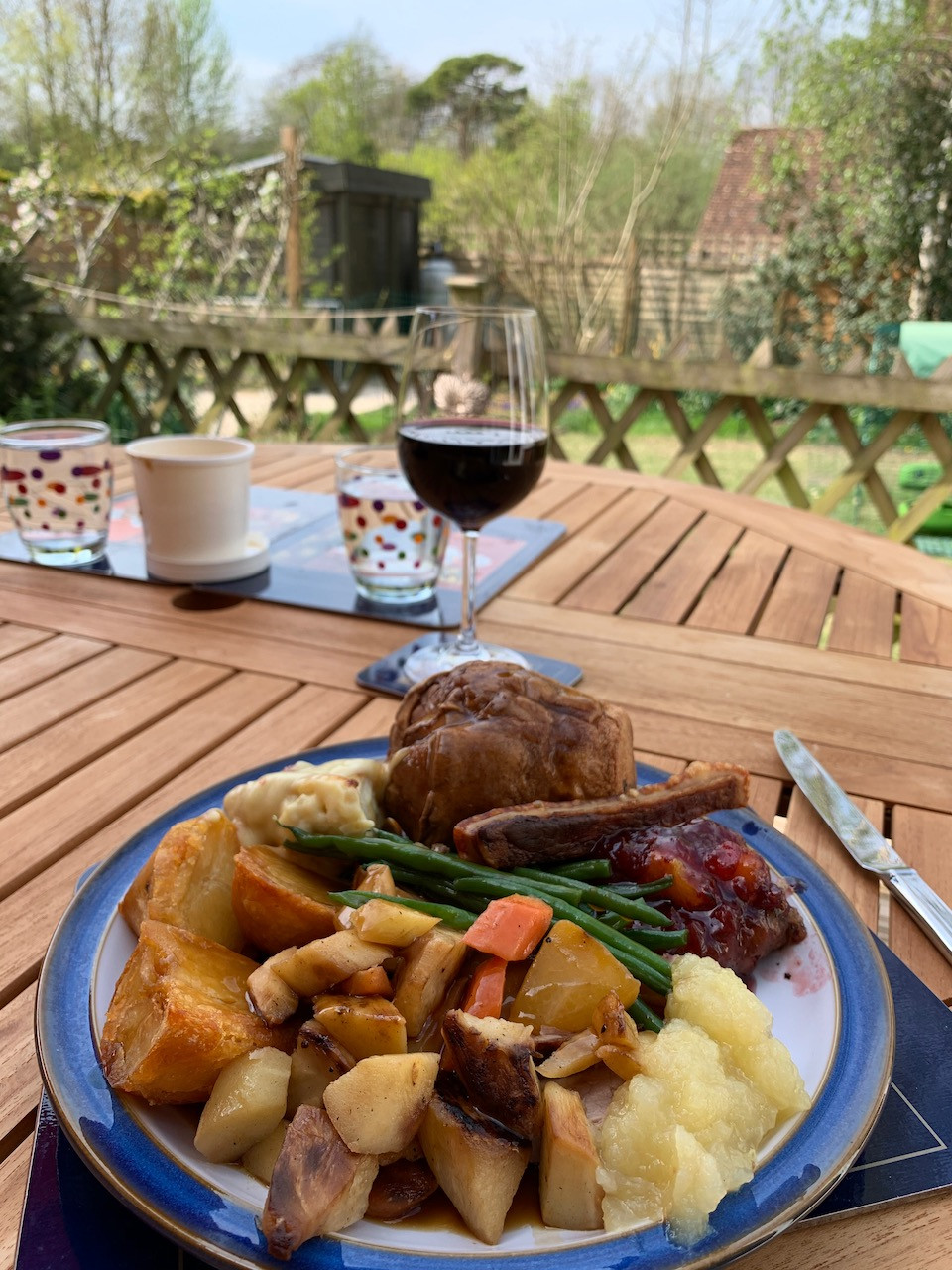 Roast Pork Sunday Lunch