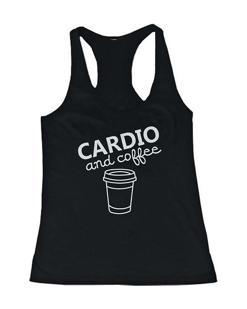 Cardio & Coffee Racer Back Tank