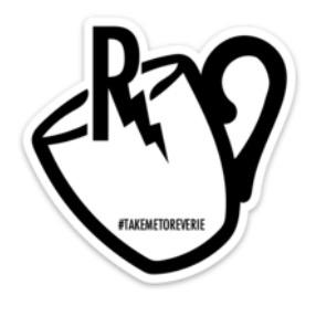 "3"" Reverie sticker"