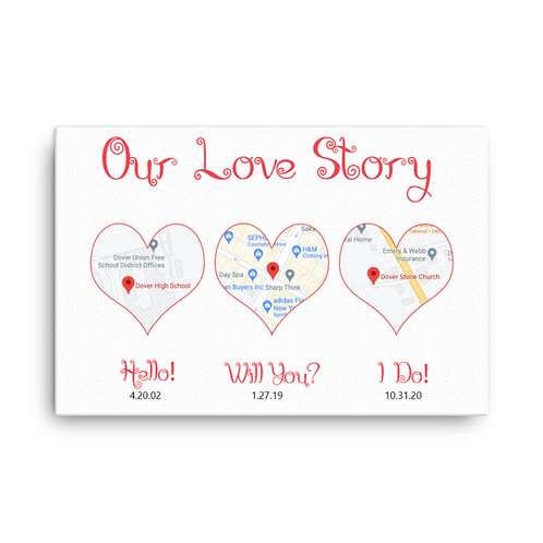 Love Story Photo Print