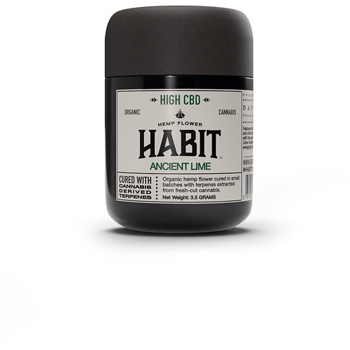 Ancient Lime 1/8th- Habit CBD