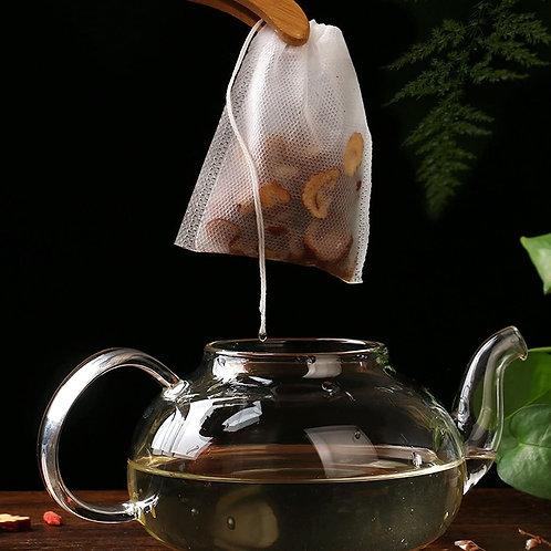Disposable Cotton Tea Bags (25)