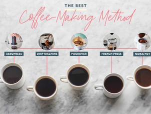 5 Methods to Make Coffee at Home