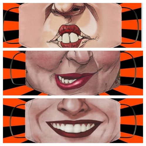 Hocus Pocus Sanderson Sister Face Masks