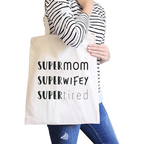 SUPER MOM Eco Tote